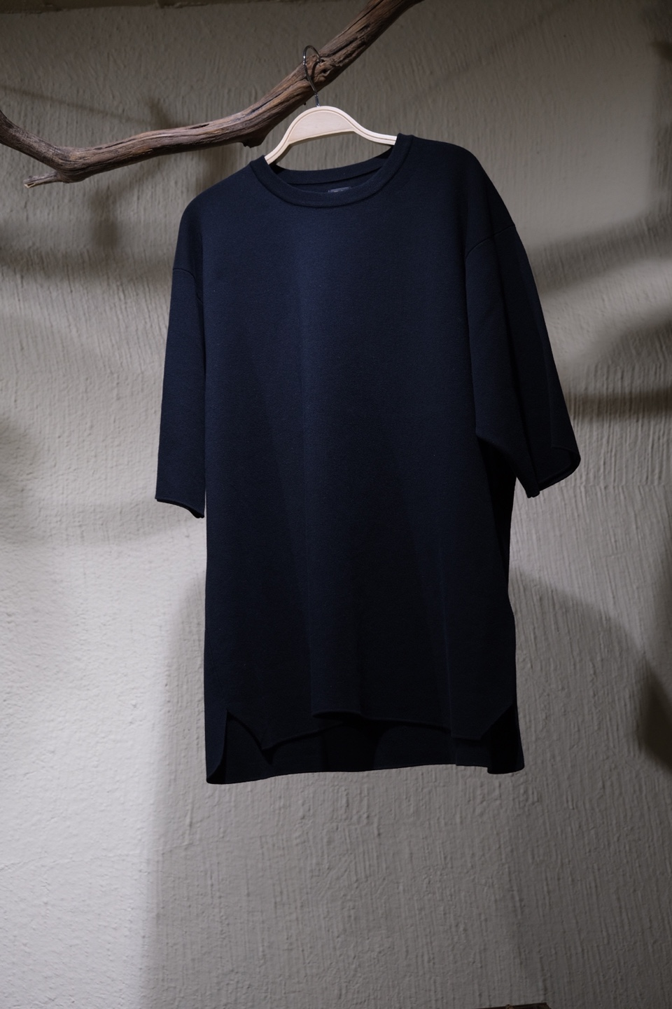 바토너 Batoner 32G Smooth T shirt - Black