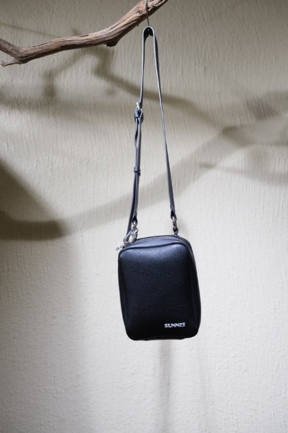써네이 미니백 Sunnei Mini Shoulder Bag - Black