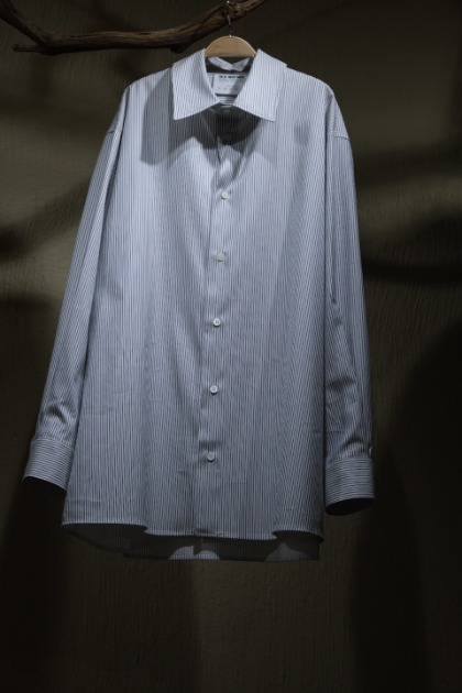 헤드 메이너 Hed Mayner Signature Buttoned Shirts - White