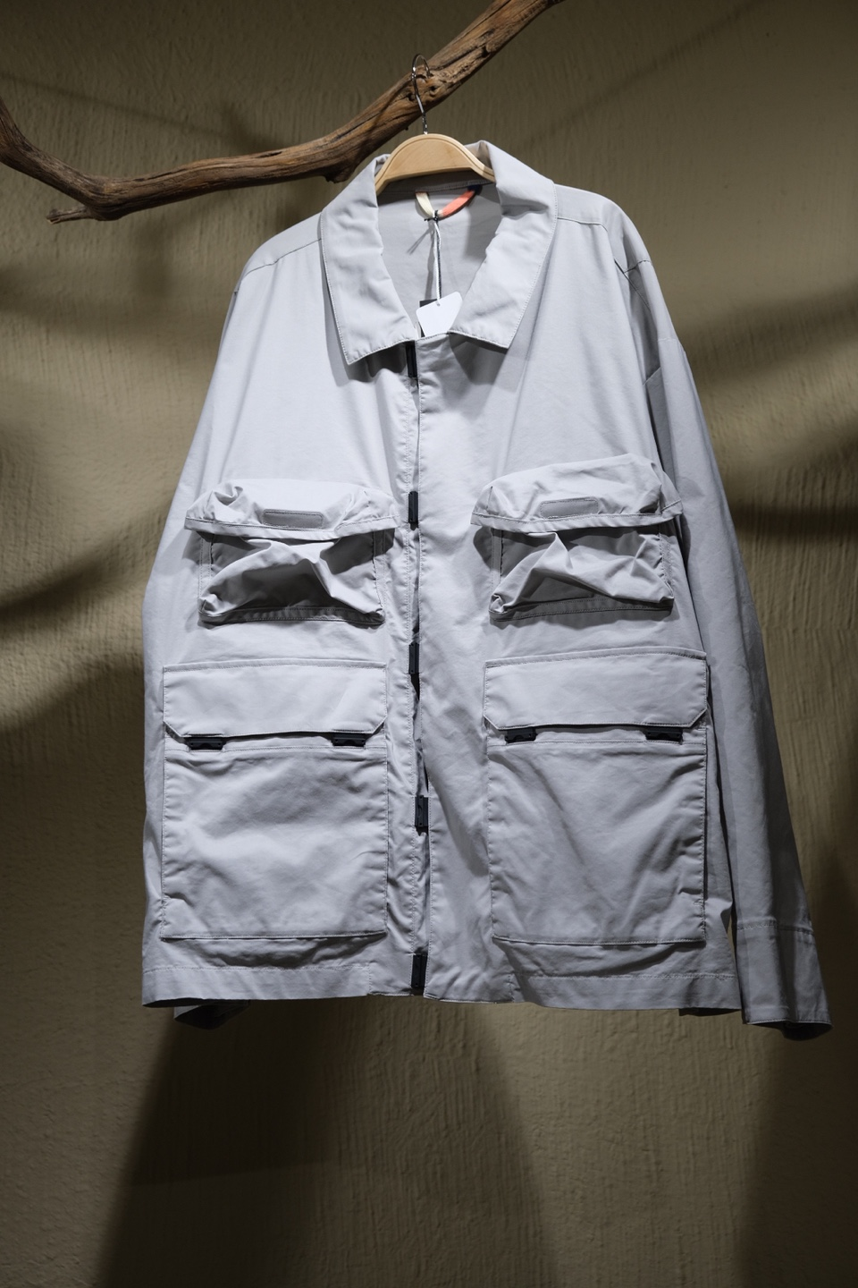 에프씨이 F/CE Field Technical Coverall - Light Grey