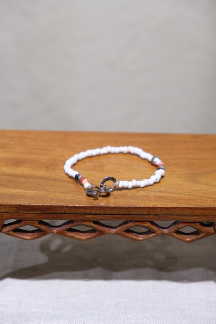 노스웍스 North Works Beads Bracelet - White